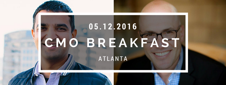 CMO Breakfast with the CMOs of Terminus and QASymphony