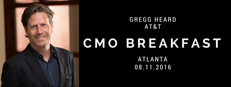 CMO Breakfast Gregg Heard AT&T