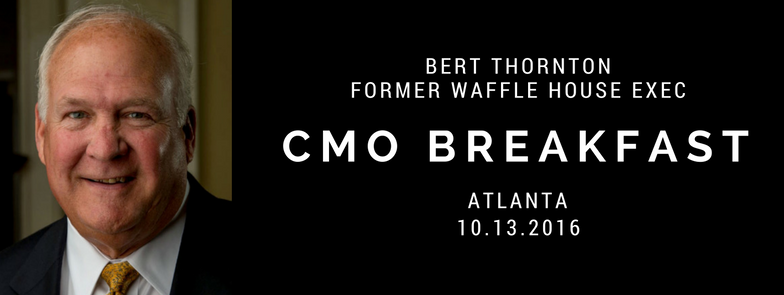 waffle house cmo breakfast bert thornton